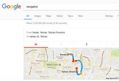 آگاه شدن از وضعیت ترافیک توسط گوگل