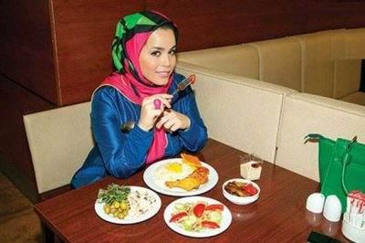 گفتگو با ملیکا شریفی نیا درباره کاهش وزن