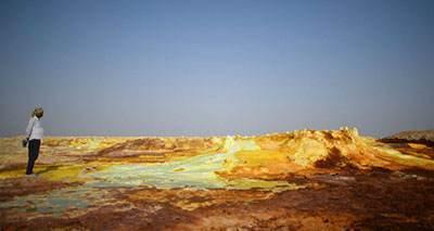 معادن گوگرد اتیوپی بدترین نقطه گرم جهان