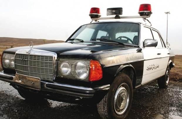 بررسی تغییرات خودروهای پلیس ایران طی 70 سال