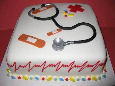 مدل های تزیین کیک زیبا به مناسبت روز پرستار