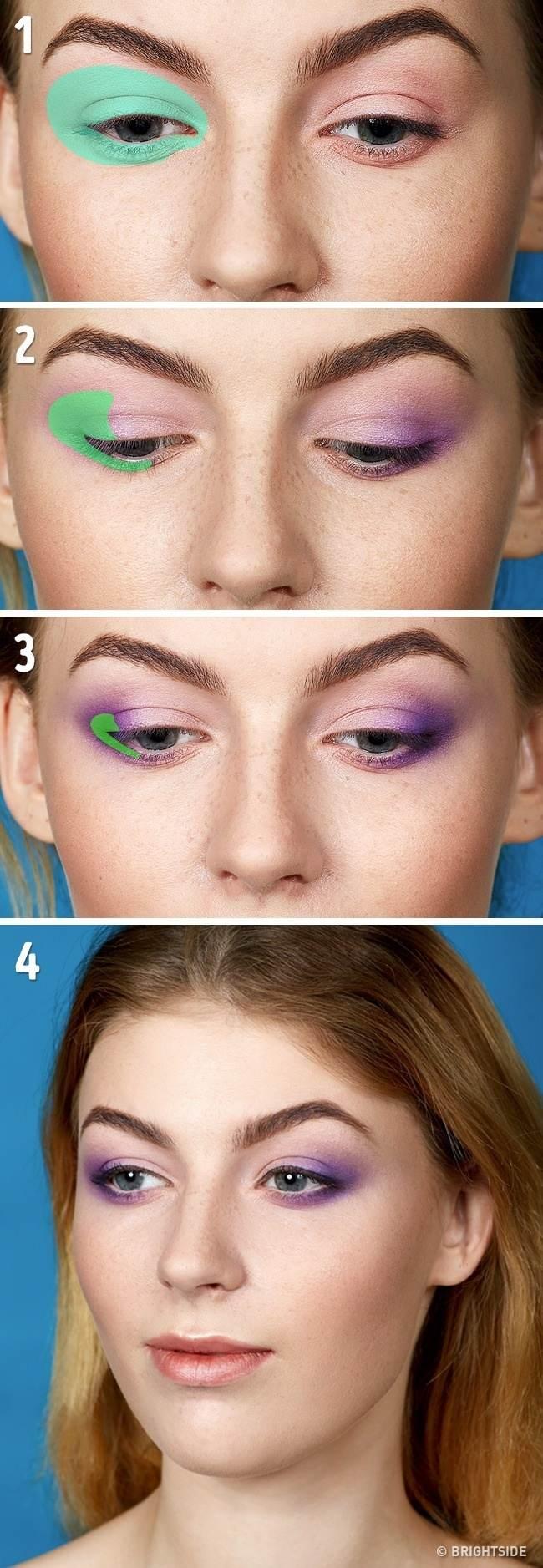5 ترفند عالی برای ارایش زیبای چشم ها