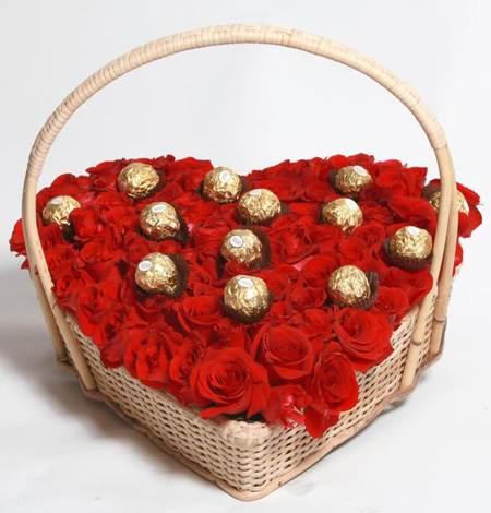مدل های تزیین شکلات عاشقانه روز ولنتاین