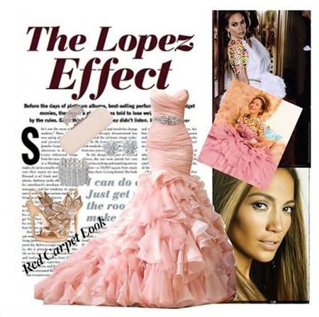 مدل های لباس شب به انتخاب جنیفر لوپز محبوب