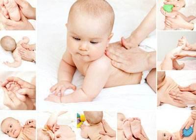 ماساژ دادن نوزاد راهی موثر برای برقراری ارتباط