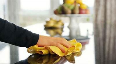کمک شوهر در انجام کارهای خانه به همسر