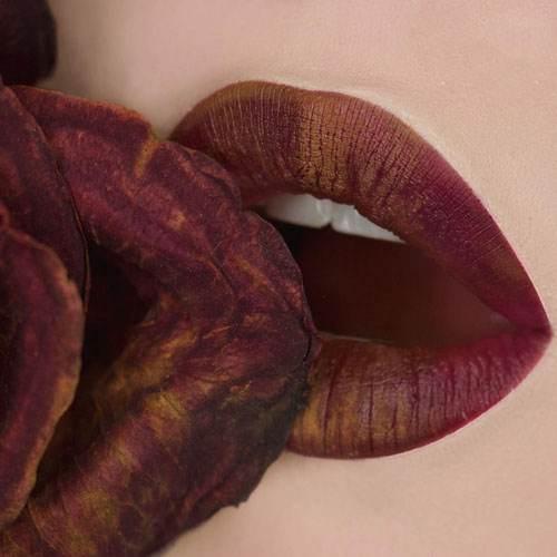 مدل های رژ لب و آرایش لب از Paisley Mattes