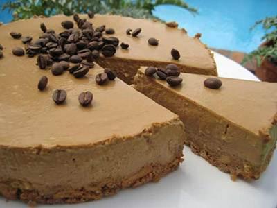 طرز تهیه موس کیک نسکافه و شکلات