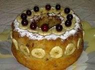آموزش کیک موز و گردو خانگی خوشمزه