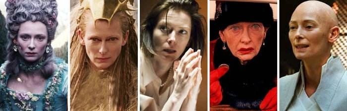 بازیگرانی که رکورددار گریم های مختلف هستند