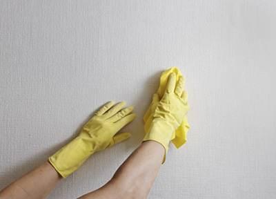 چگونه لکه دوده را از روی دیوار پاک کنیم؟