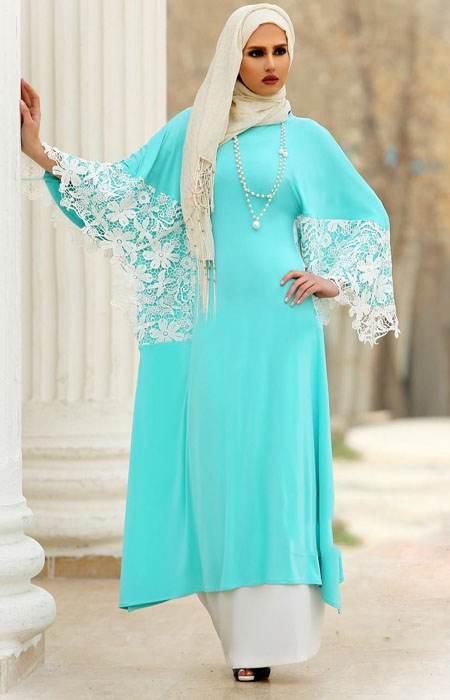 مدل های باحجاب مانتو مجلسی ایرانی Vallentina