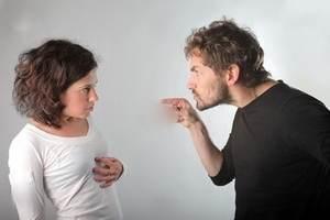 وقتی شوهر در حالت عصبانیت قرار دارد