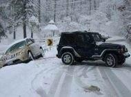 راهنمای رانندگی روی جاده های یخ زده