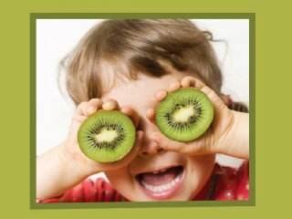 کیوی میوه مناسب و مفید برای کودکان