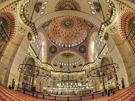 سفر به مسجدهای زیبای استانبول ترکیه