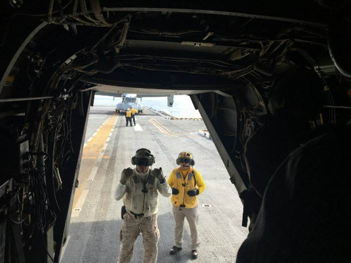 تکنولوژی MV-22B نیمی هلیکوپتر و نیمی هواپیما