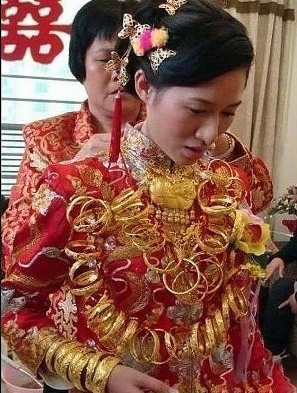 این دختر گران ترین عروس جهان لقب گرفت