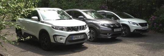 رقابت جنجالی بین خودروهای ویتارا هوندا و پژو 2008