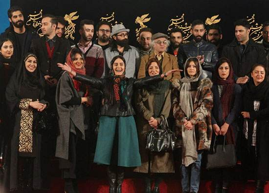 تیپ و استایل الناز شاکردوست در جشنواره فیلم فجر