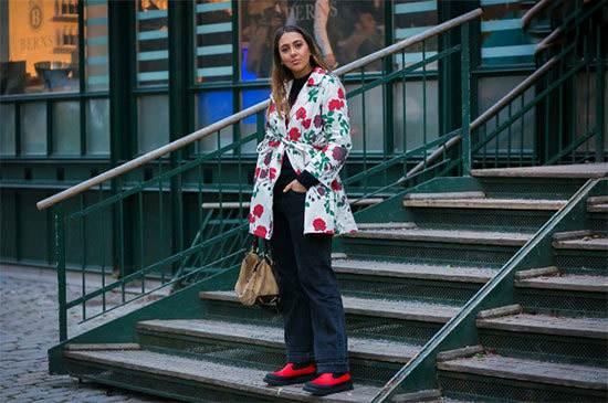 تیپ های جذاب زنانه در هفته مد لباس خیابانی سوئد