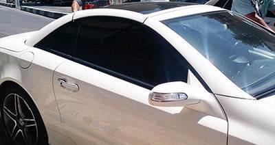 قانون نصب شیشه دودی و سانروف پلیس راهور
