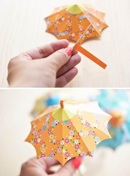 آموزش درست کردن چتر تزیینی در منزل