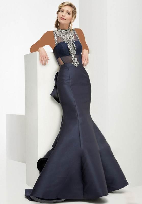 مدل های بلند لباس مجلسی برند Jasz Couture