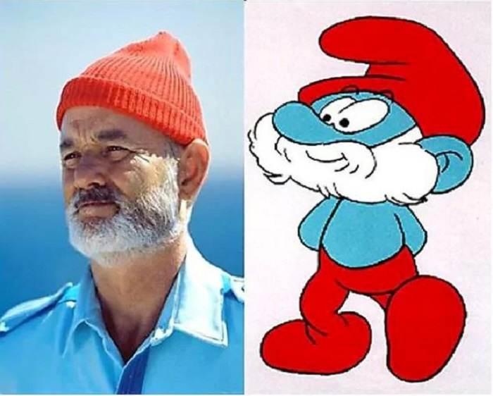 نمونه های واقعی شخصیت های مشهور کارتونی را ببینید