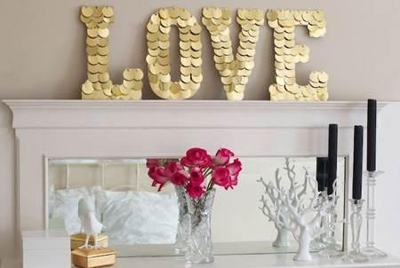 تزیینات و چیدمان عاشقانه برای روز ولنتاین
