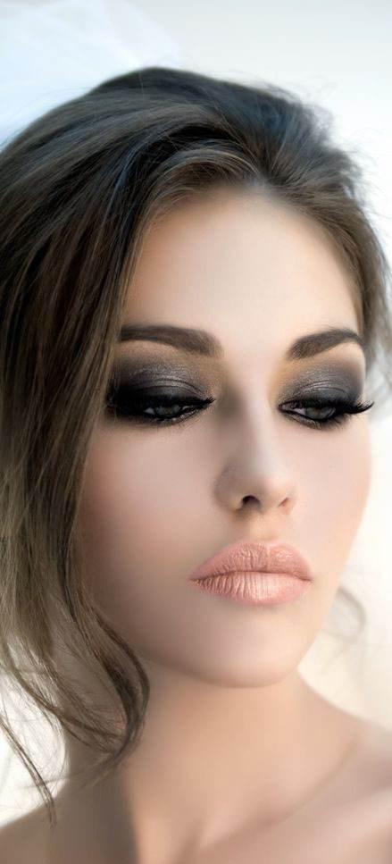 انواع جذاب ترین مدل های آرایش صورت 2017
