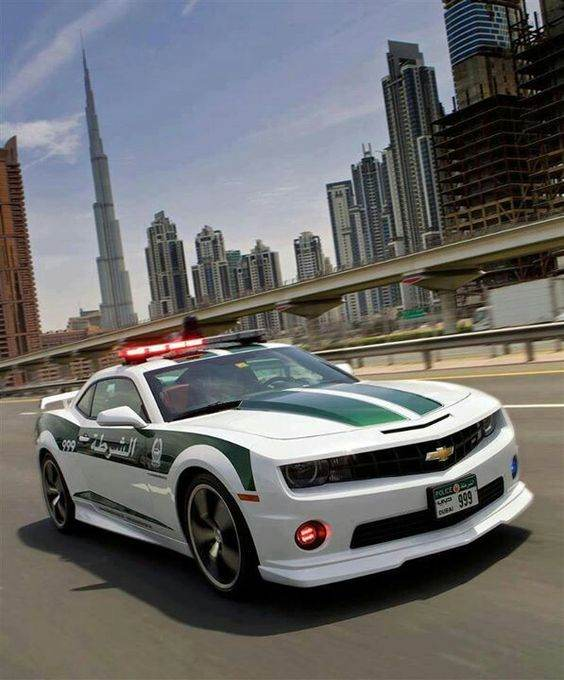عکس های ماشین های سوپرلوکس پلیس دبی