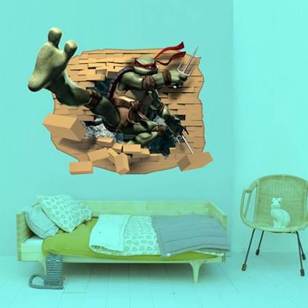 استفاده از استیکرهای دیواری در دکوراسیون