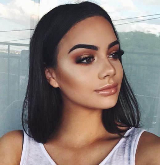 مدل های آرایش صورت زنانه و دخترانه 96 -2017