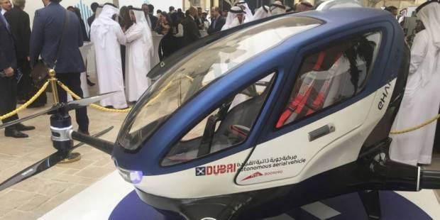 پهپادهای مسافربر در دوبی کار خود را آغاز می کنند
