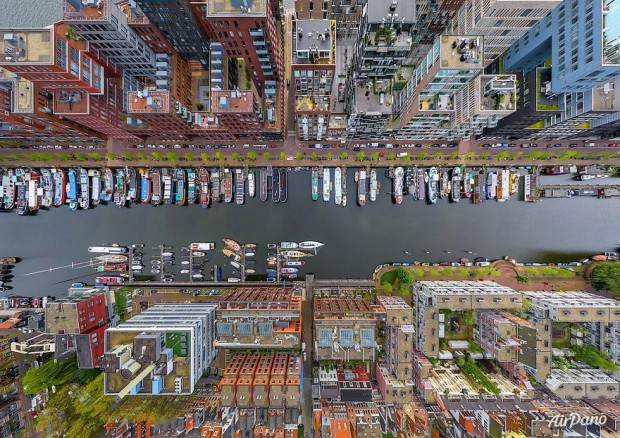 مناظر فوق العاده شهرهای دیدنی دنیا از نمای بالا