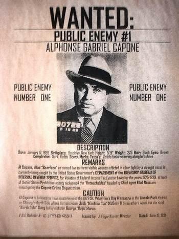 درباره آل کاپون اسطوره جنایت در تاریخ