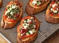 طرز تهیه بروشتا پیش غذای خوشمزه ایتالیایی