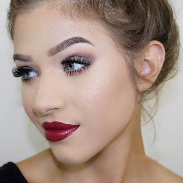 مدل های آرایش جذاب برای دختران با پوست سفید
