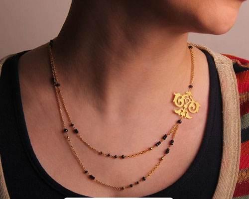 زیورآلات طلا زنانه شیک و زیبا برند ایرانی گرامی