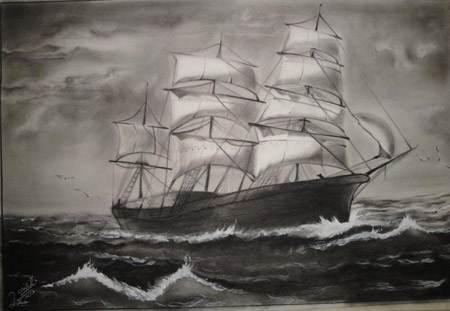 آشنایی با هنر نقاشی به سبک سیاه قلم