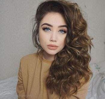 مدل های موی فر دخترانه جدید و جذاب 2017