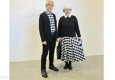 زن و شوهری که 37 سال است لباس ست می کنند