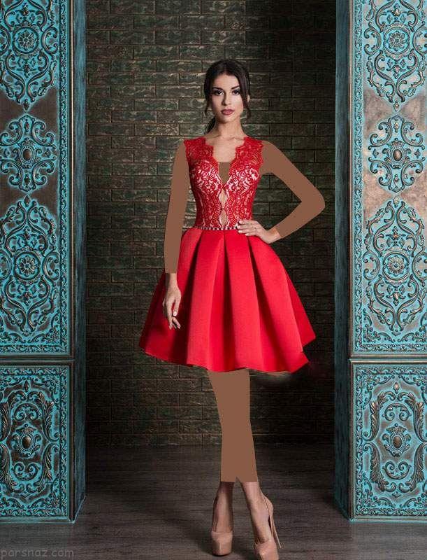 انواع مدل های لباس مجلسی و نامزدی شیک 2019