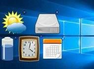 آموزش ترفند نصب گجت روی ویندوز 10