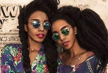 دو خواهر با موهای عجیب و غریب جنجالی شدند