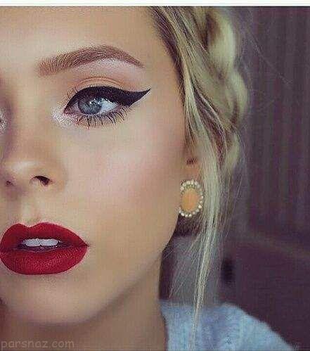 مدل های آرایش صورت زیبا و جذاب مناسب بهار