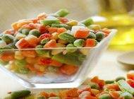 درباره استفاده از سبزیجات تازه و فریز شده