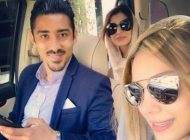 جدیدترین تصاویر رضا قوچان نژاد درکنار همسرش