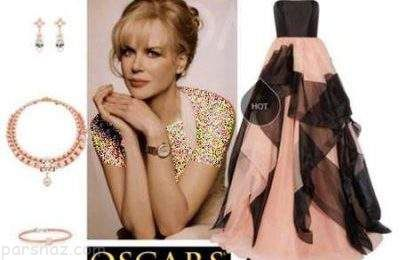 ست شیک لباس شب به انتخاب نیکول کیدمن